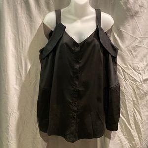Shein cold shoulder blouse